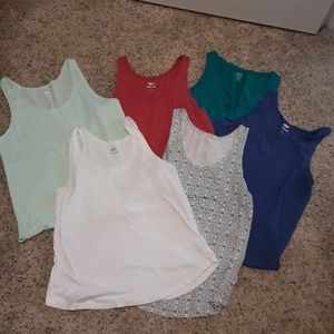 Lot of 6 Tank Tops